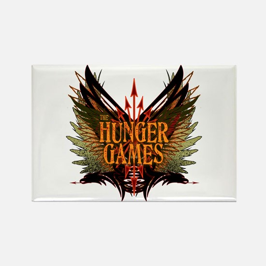 Flight of Arrows The Hunger Games Rectangle Magnet