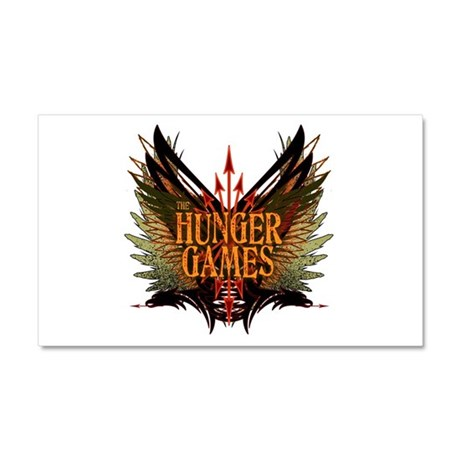 Flight of Arrows The Hunger Games Car Magnet 20 x