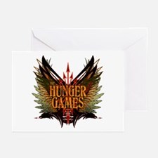 Flight of Arrows The Hunger Games Greeting Cards (