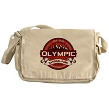 Olympic Crimson Messenger Bag