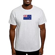 New Zealand Ash Grey T-Shirt