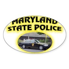 Maryland State Police Decal