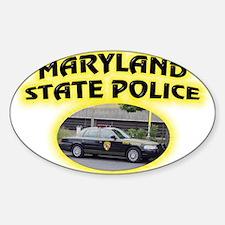 Maryland State Police Sticker (Oval)