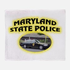 Maryland State Police Throw Blanket
