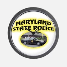 Maryland State Police Wall Clock