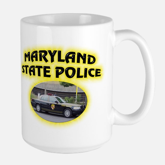 Maryland State Police Large Mug