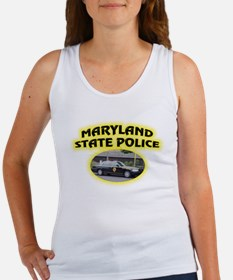 Maryland State Police Women's Tank Top