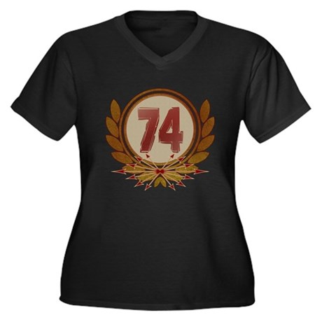74th Annual Hunger Games Women's Plus Size V-Neck