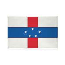 Netherlands Antilles Rectangle Magnet