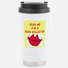 book collector Stainless Steel Travel Mug