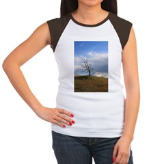 Lonely Tree Women's Cap Sleeve T-Shirt