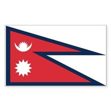 Nepal Rectangle Decal