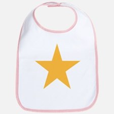 Five Pointed Yellow Star Bib