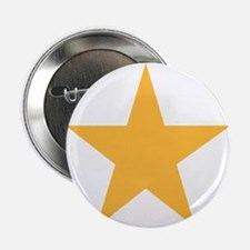 """Five Pointed Yellow Star 2.25"""" Button"""