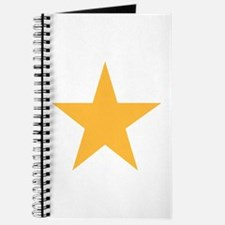 Five Pointed Yellow Star Journal