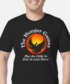 The Hunger Games Men's Fitted T-Shirt (dark)