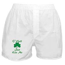 O'Hell Just Kiss Me Boxer Shorts