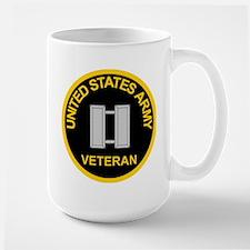 Captain Army Veteran Coffee Mug
