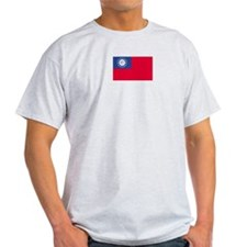 Myanmar Ash Grey T-Shirt