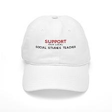 Support: SOCIAL STUDIES TEAC Baseball Cap