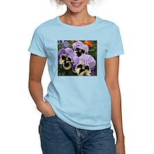 Happy Pansy Trio T-Shirt