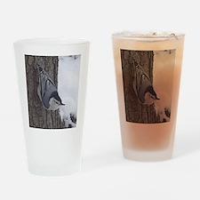 Nuthatch Drinking Glass