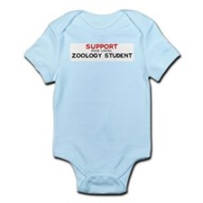 Support:  ZOOLOGY STUDENT Infant Creeper