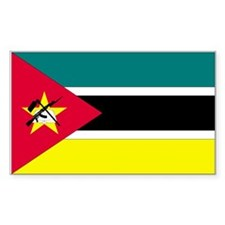 Mozambique Rectangle Decal