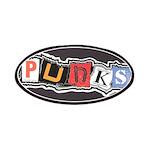 punks OiSKINBLU Patches (black bg)
