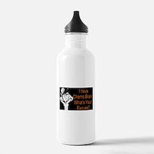 Chemo Brain Water Bottle