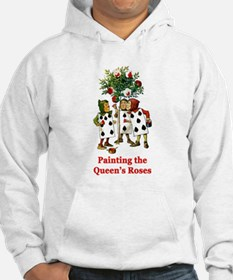 Painting the Queen's Roses Hoodie