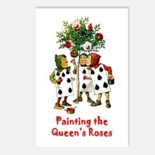 Painting the Queen's Roses Postcards (Package of 8