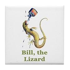 Bill the Lizard Tile Coaster