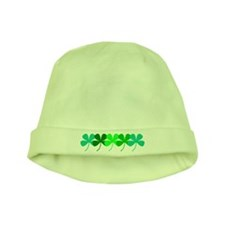 Green Clovers Irish St. Patrick's Day Baby Hat