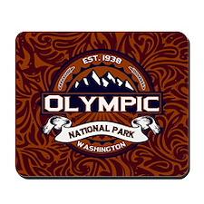Olympic Vibrant Mousepad