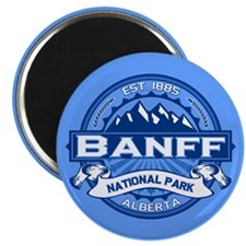 Banff Natl Park Cobalt Magnet