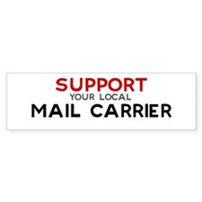 Support: MAIL CARRIER Bumper Bumper Sticker