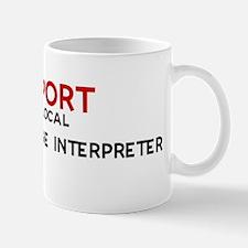 Support:  SIGN LANGUAGE INTER Mug