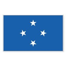 Micronesia Rectangle Decal