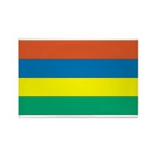 Mauritius Rectangle Magnet