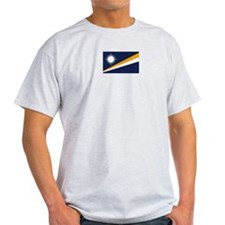 Marshall Islands Ash Grey T-Shirt