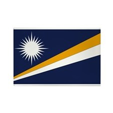 Marshall Islands Rectangle Magnet