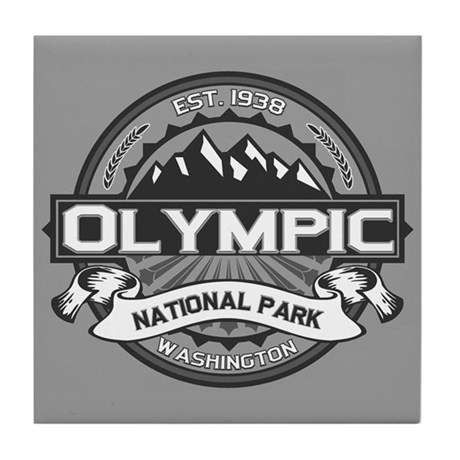 Olympic Ansel Adams Tile Coaster