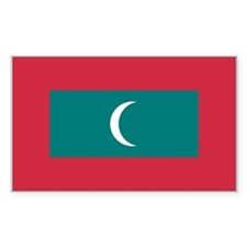Maldives Rectangle Decal