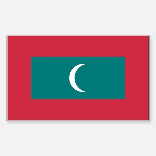 Maldives Rectangle Decal
