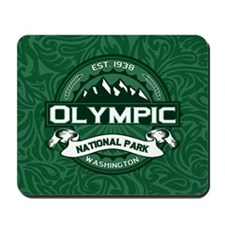 Olympic Forest Green Mousepad