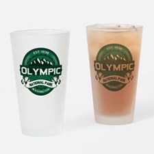 Olympic Forest Green Drinking Glass