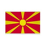 Macedonia flag Single