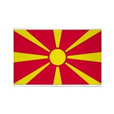 Macedonia Rectangle Magnet