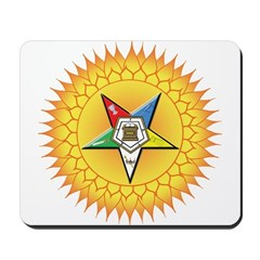 OES Star in the sun Mousepad
